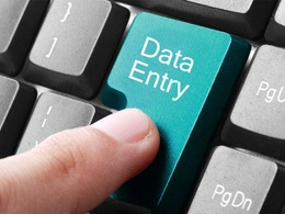 Complete any data entry task for 2 hours