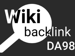 Get a backlink from Wikipedia - en.wikipedia.org - DA98