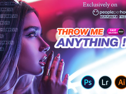 Do Any Complex or Intensive Photoshop Work