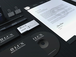 Do logo + stationary design with complete editable files
