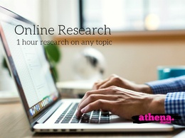Carry Out 1 Hour of Online Research