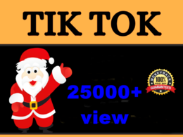 Provide you HQ tiktok video promotion Fast Delivery