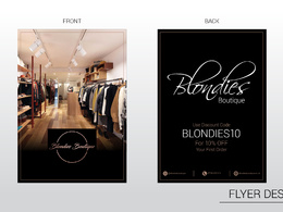 Design Flyer/ Brochure/ Leaflet/ Poster with unlimited revision