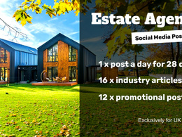 Post Social Media Content to Facebook for UK Estate Agents