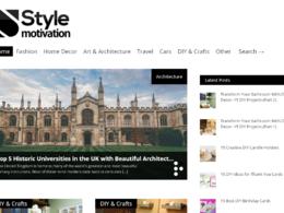 Place a permanent & Indexed post on Stylemotivation. com DA-60