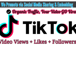 Boost TikTok Videos Organically [Go Viral] Get REAL Traffic