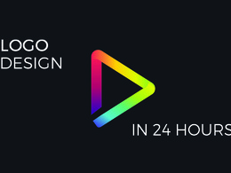 Design minimalist logo with unlimited revisions in 24 hour