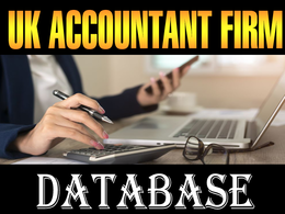 Give you UK ATTORNEYS FIRM DATABASE 2020 (Total 3000 contacts)