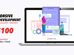 Develop 4-paged responsive and SEO optimized website