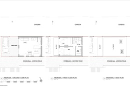 Floor plans drafted in autoCAD from sketches & photos