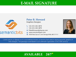 Do Email Signature for your business