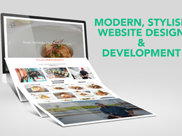 Design a 1-6 page mobile friendly website with free hosting