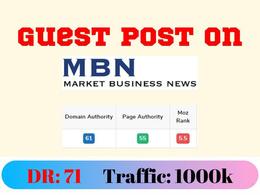Business Guest Post on marketbusinessnews.com - DR71 DA63