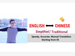 Do professional Chinese translation. Delivery within 24 hours