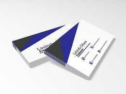 Design Your Double Side Bussiness Card In Modern Way
