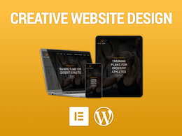 Design & Build a Responsive Website with Wordpress & Elementor