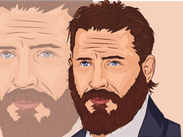 Create realistic vector portrait from photo