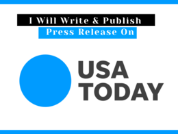 Write and publish a press release on USA Today, usatoday.com