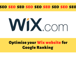 Do on page and off page seo of wix site