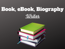 Ghostwrite your books, ebooks and biography of 1000 words