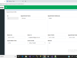 Sell clinic management system project in mvc
