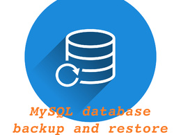 Backup and restore MySQL or MariaDB database