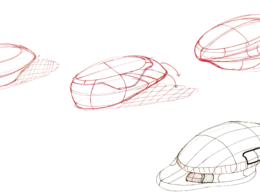 Create one page of concept sketches