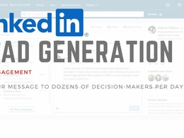Generate leads via LinkedIn Sales Professional