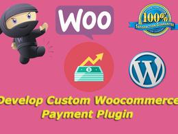 Develop Custom Woocommerce Payment Plugin