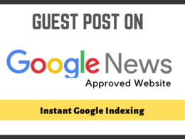 Guest post on google news  website with do follow backlink