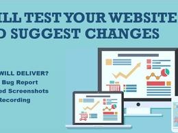 Perform web and mobile QA testing
