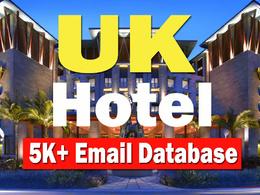 UK Hotels Email Database