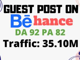 Write And Guest Post On DA92 Behance.net Design Blog