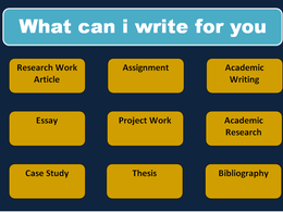 Write 500 words of research work and academic writing