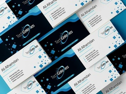 Design Professional stationery with business cards, letterhead,