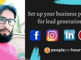 Set up your business pages for lead generation