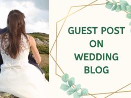 Guest post on wedding niche