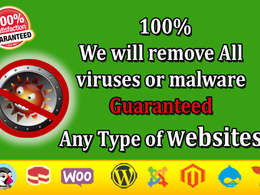 Superfast remove malware,virus from any type websites