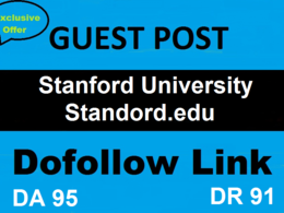 Guest Post On Stanford University Stanford.edu DA 93