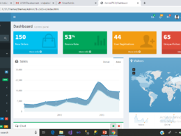 Do adminlte bootstrap admin dashboard template customization