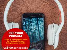 Create podcast trailers for social media