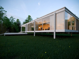 Design a high quality exterior rendering