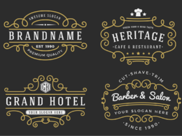 Design a Luxury Retro Vintage Logo For your Business