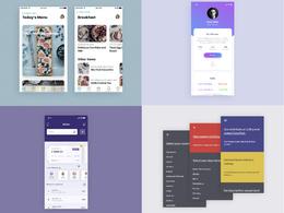 Design Creative Unique UI / UX / GUI for Mobile / App