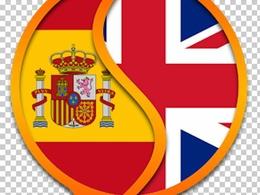 Translate 500 English word into spanish