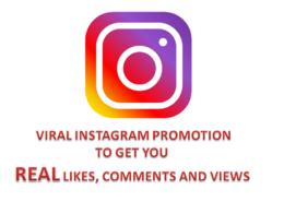 Do viral instagram promotion