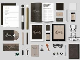 I will design logo and stationery items (any 5)