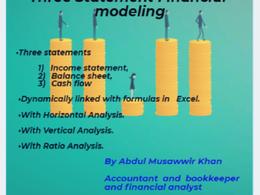 Prepare and deliver  Financial model
