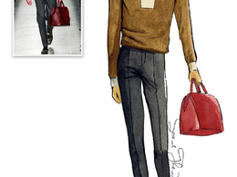 Draw fashion illustration sketch in my style