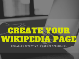 Create a High Quality Wikipedia Page - Approval Guaranteed